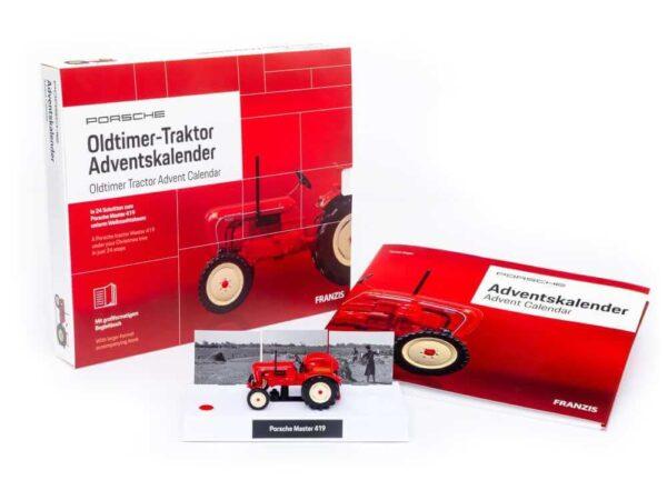 Porsche-Traktor-Julekalender
